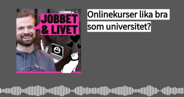 Onlinekurser lika bra som universitet?